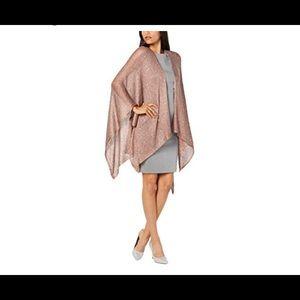INC New Sequin Evening Knit Dress Shrug OS